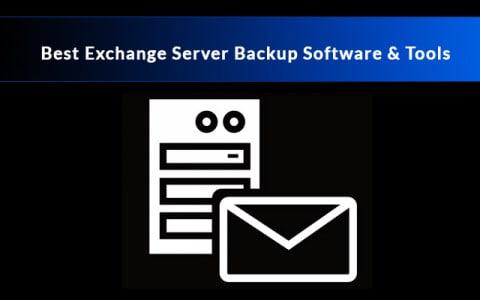 Best Exchange Server Backup Software & Tools
