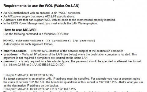 MatCode MC-WOL Review