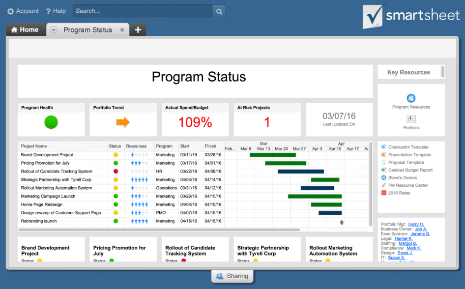 smartsheet app for windows