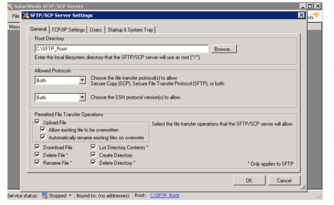 SolarWinds SFTP Server Review - Software Portal