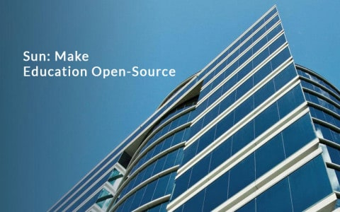Sun-Make-education-Open-Source