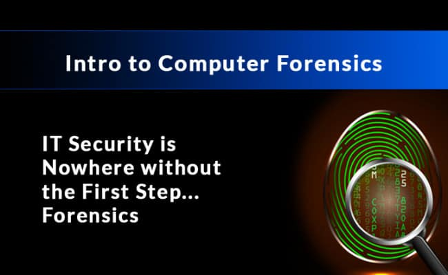 Intro to Computer Forensics