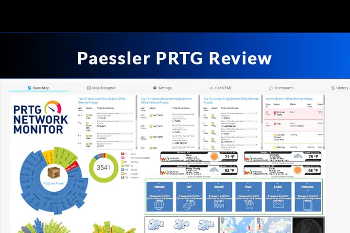 PRTG Network Monitor Software Review - Software Portal