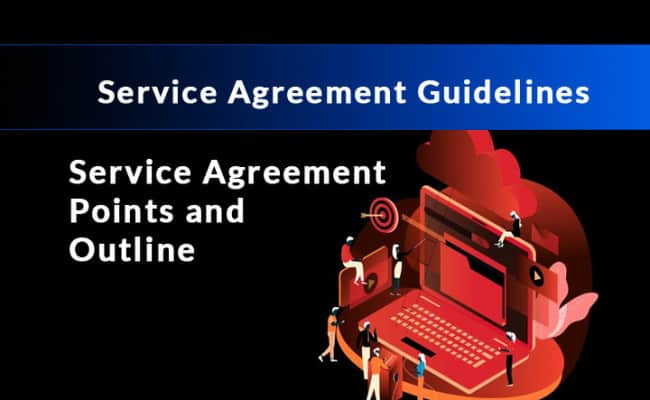 service agreement guidelines